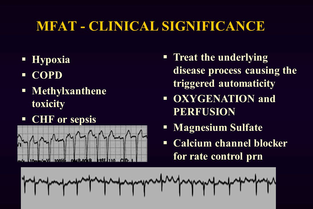 MFAT - CLINICAL SIGNIFICANCE