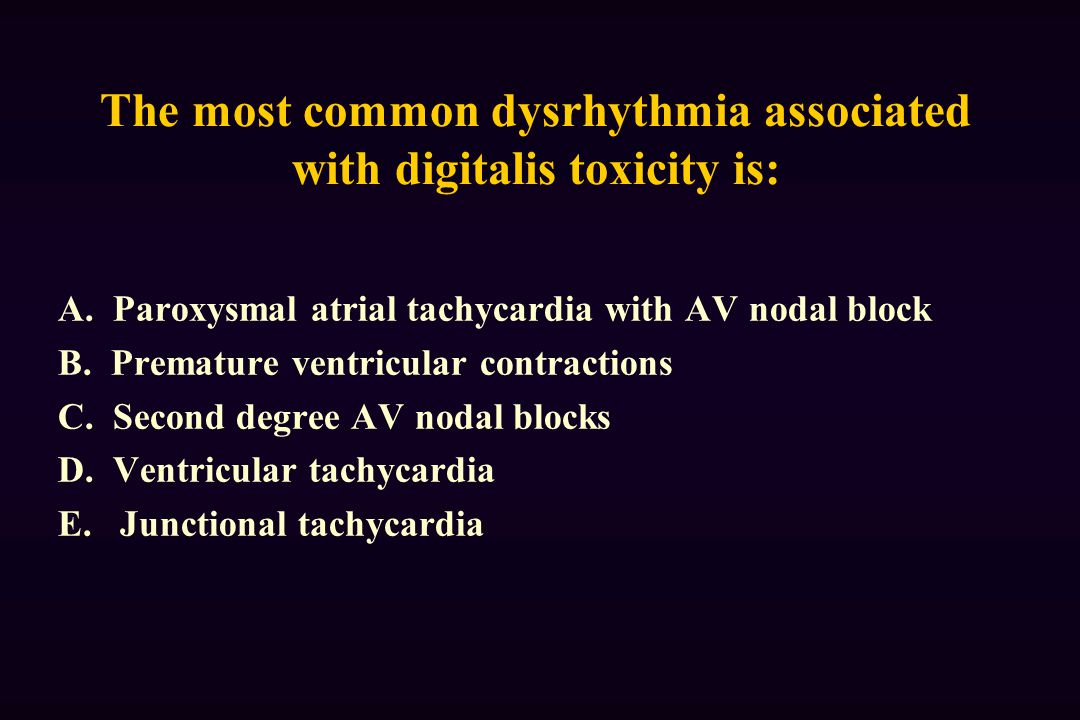 The most common dysrhythmia associated with digitalis toxicity is: