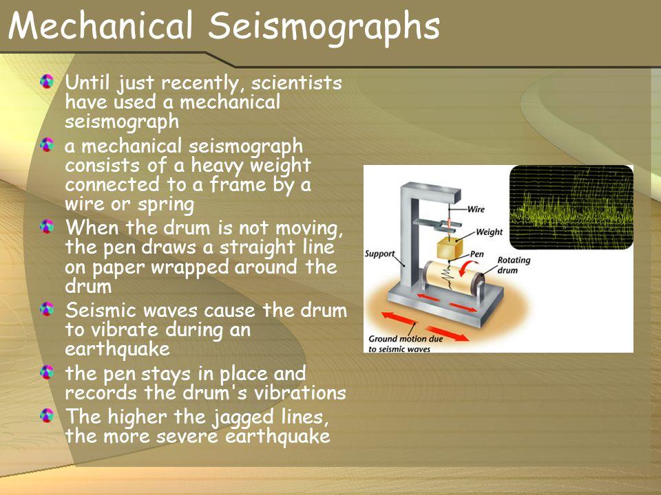 Mechanical Seismographs