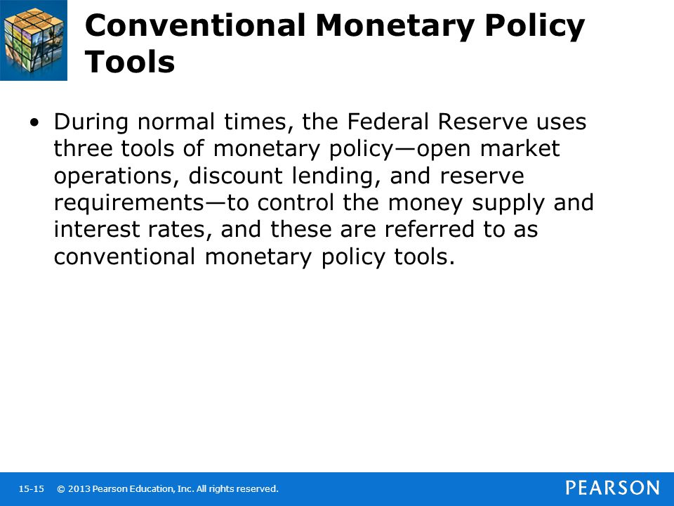 Conventional Monetary Policy Tools