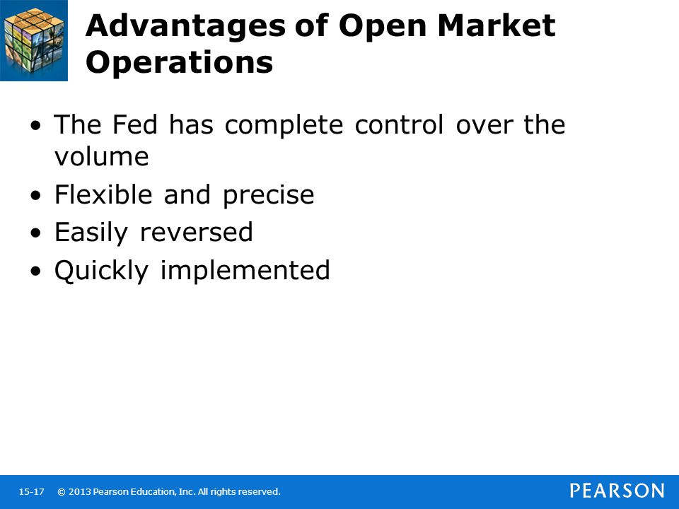 Advantages of Open Market Operations