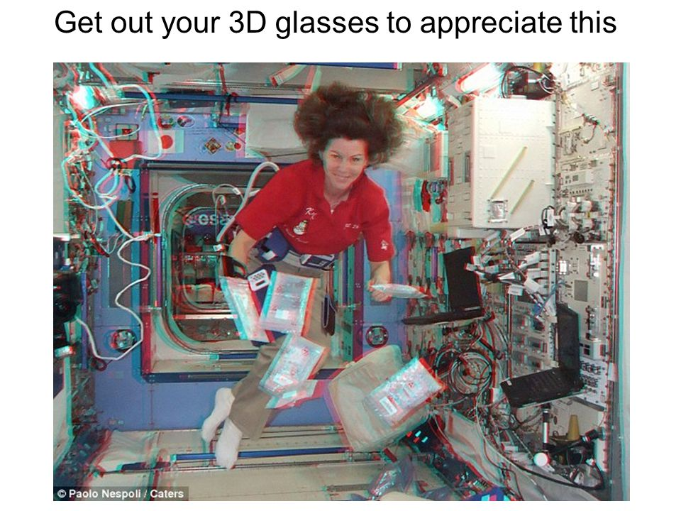 Get out your 3D glasses to appreciate this