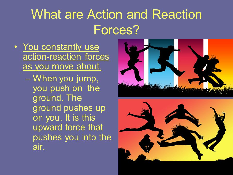 What are Action and Reaction Forces