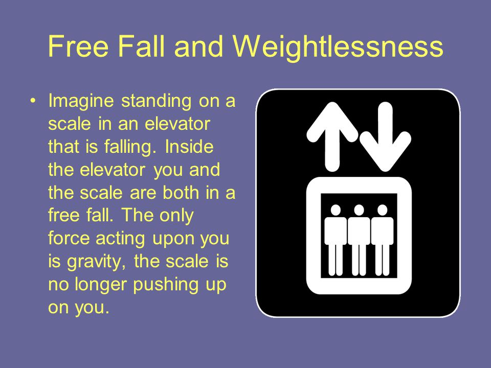 Free Fall and Weightlessness