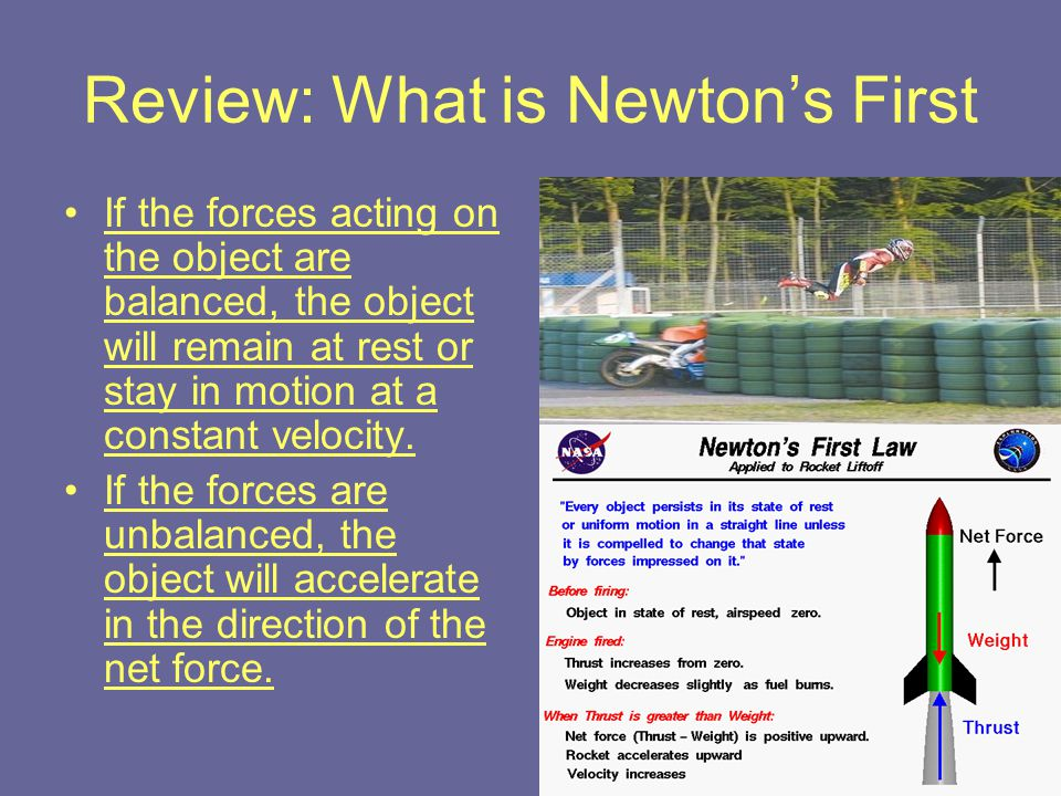 Review: What is Newton's First