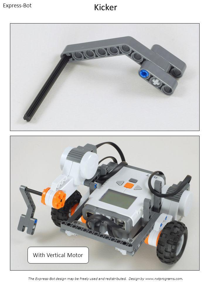 Kicker Express-Bot With Vertical Motor