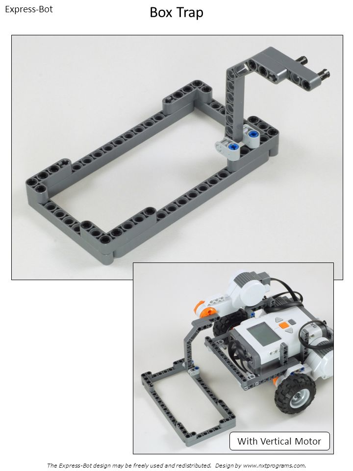 Box Trap Express-Bot With Vertical Motor