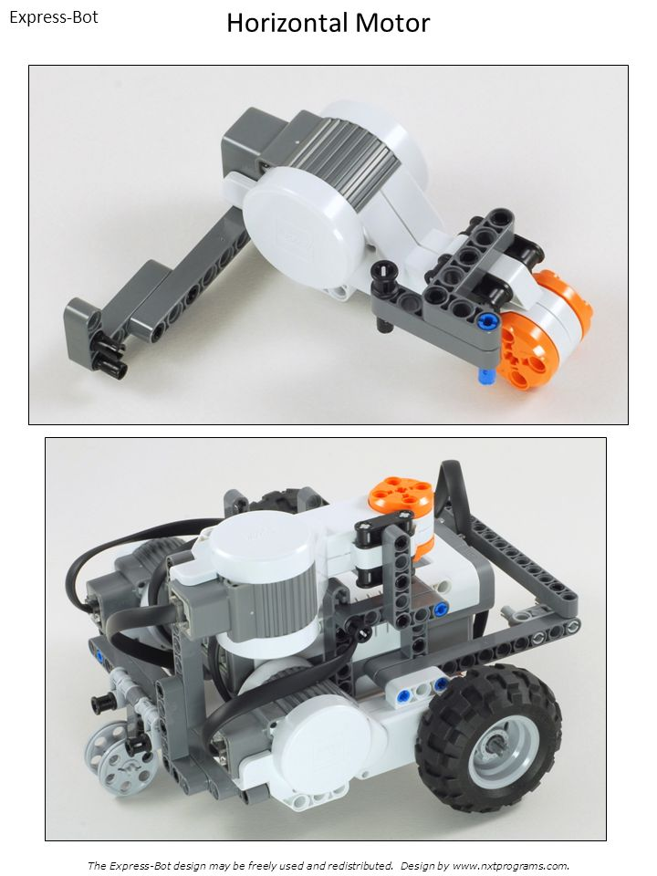 Horizontal Motor Express-Bot