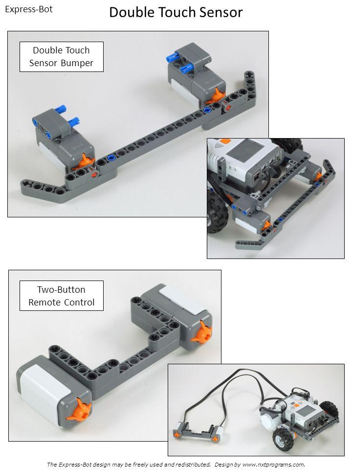 Double Touch Sensor Express-Bot Double Touch Sensor Bumper