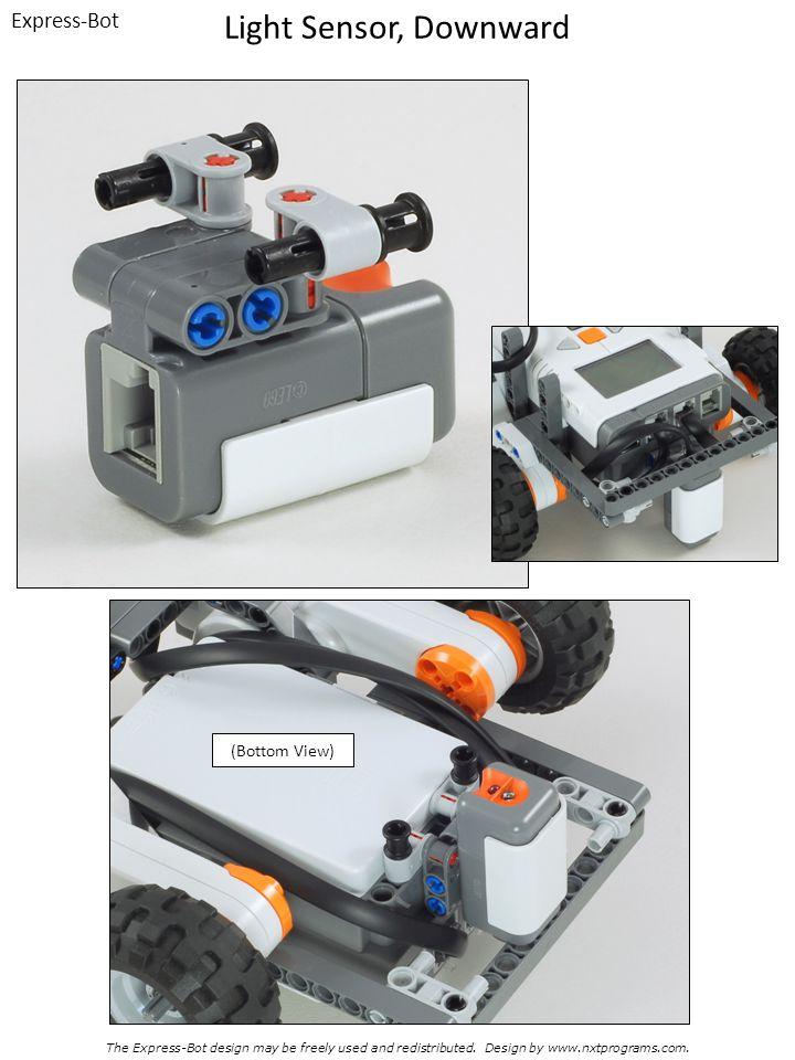 Light Sensor, Downward Express-Bot (Bottom View)