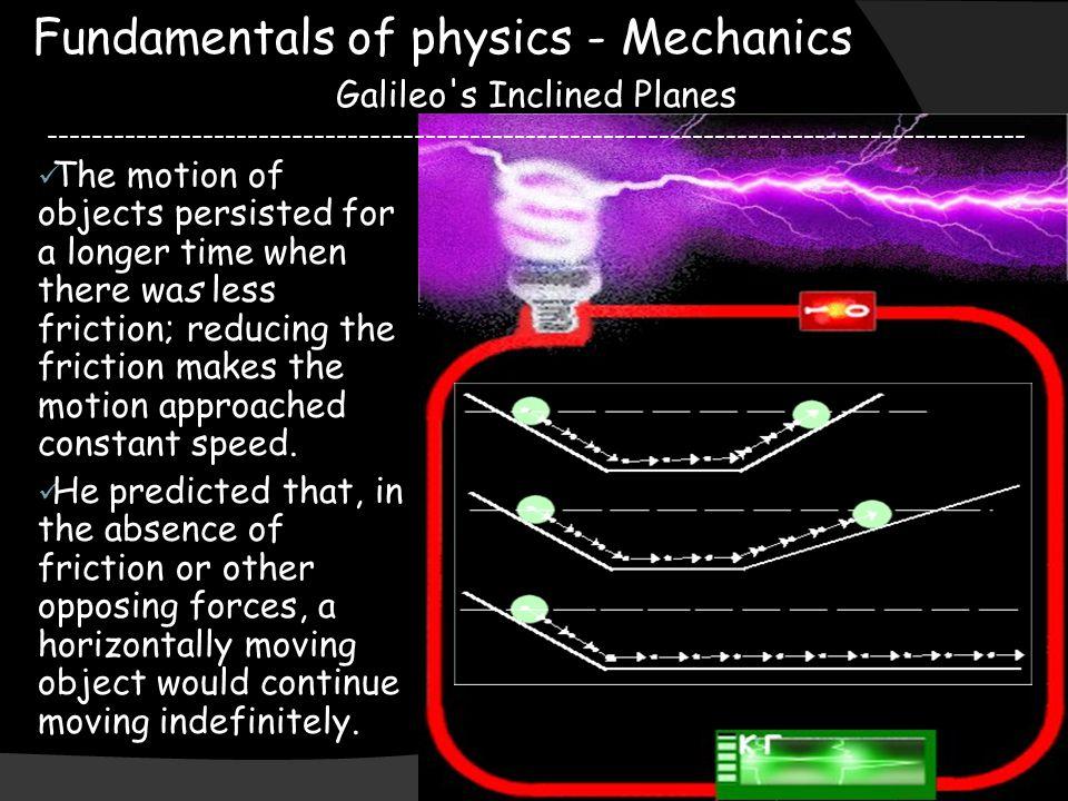 Fundamentals of physics - Mechanics