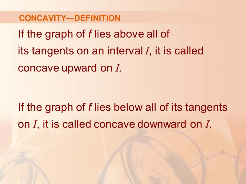 CONCAVITY—DEFINITION