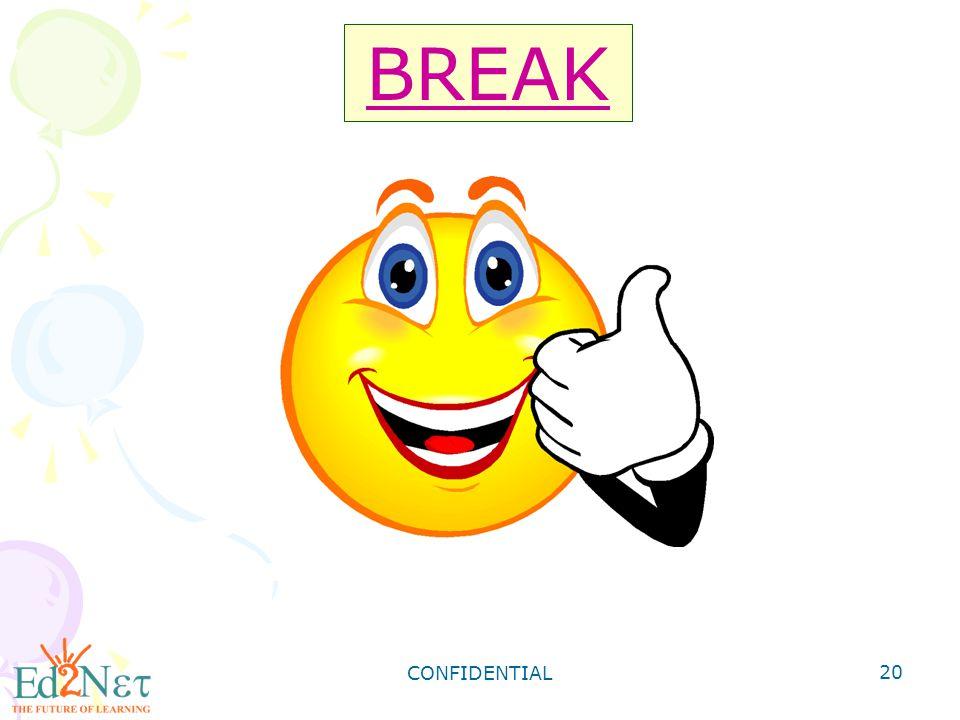 BREAK CONFIDENTIAL