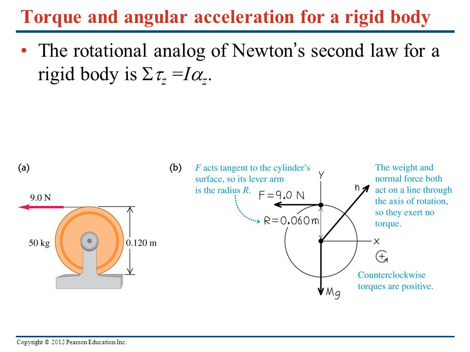 torque and angular acceleration Torque and angular acceleration • zero torque and static equilibrium • center  of mass and balance • dynamic applications of torque • angular momentum.
