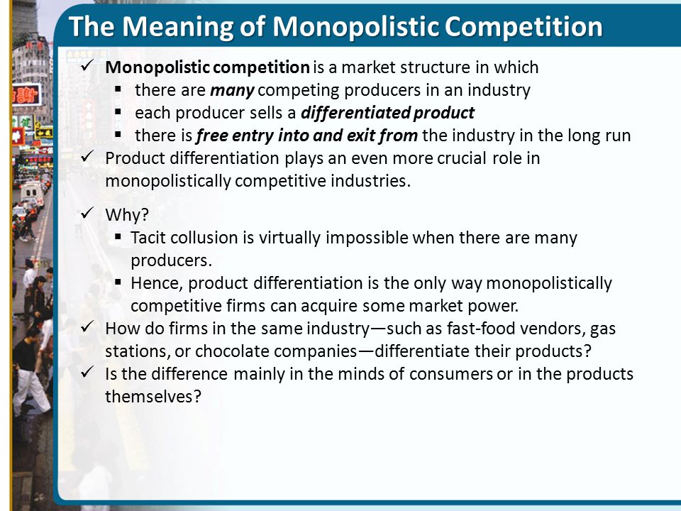 The Meaning of Monopolistic Competition