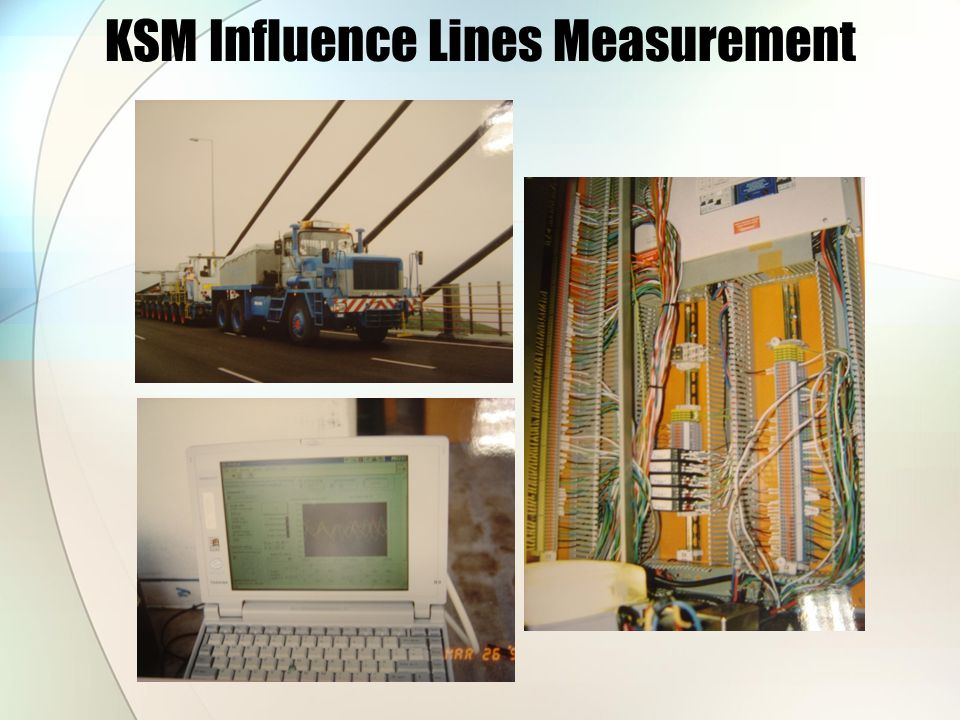 KSM Influence Lines Measurement