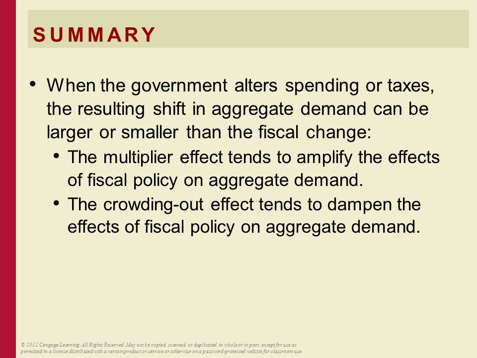 SUMMARY Economists disagree about how actively policymakers should try to stabilize the economy.