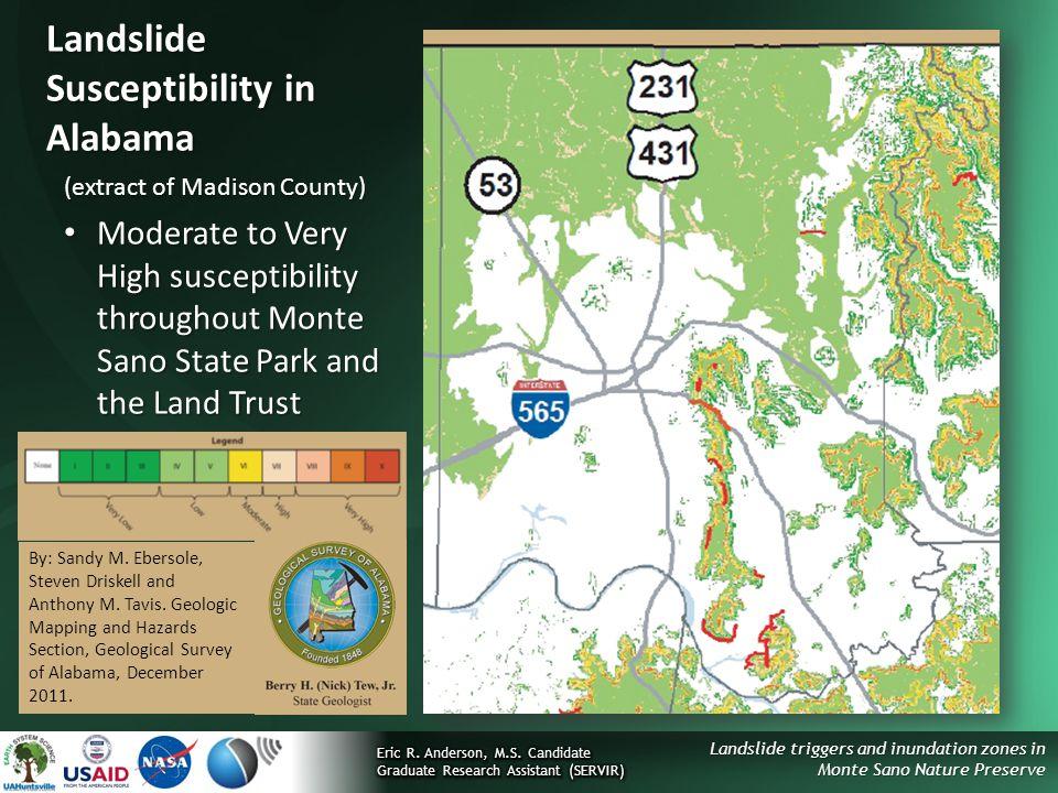 Landslide Susceptibility in Alabama