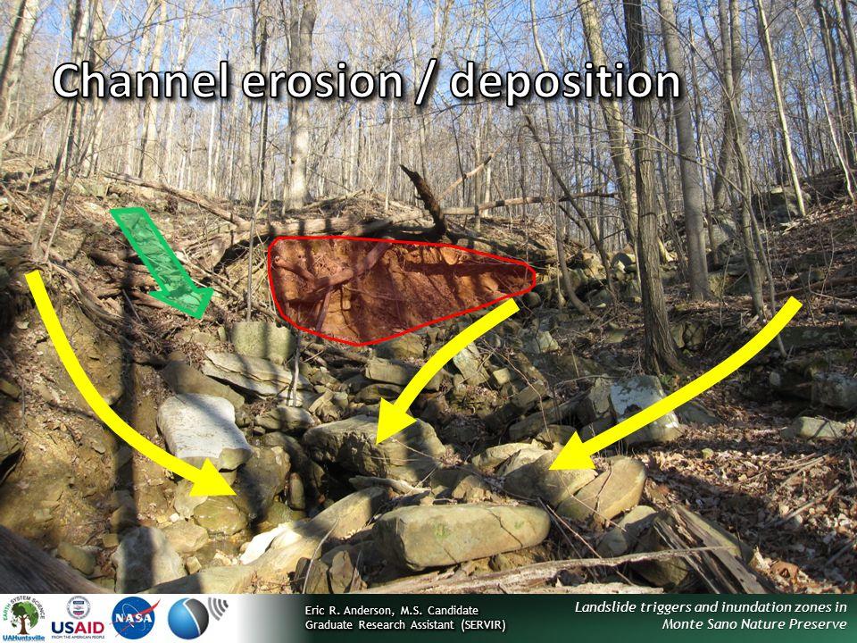 Channel erosion / deposition