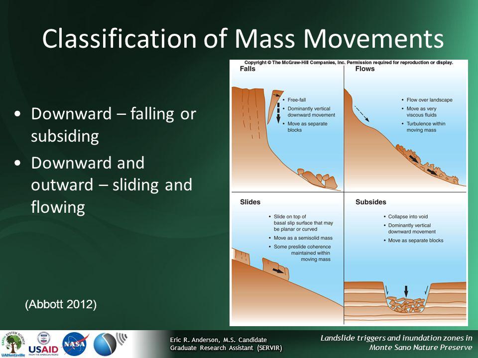 Classification of Mass Movements