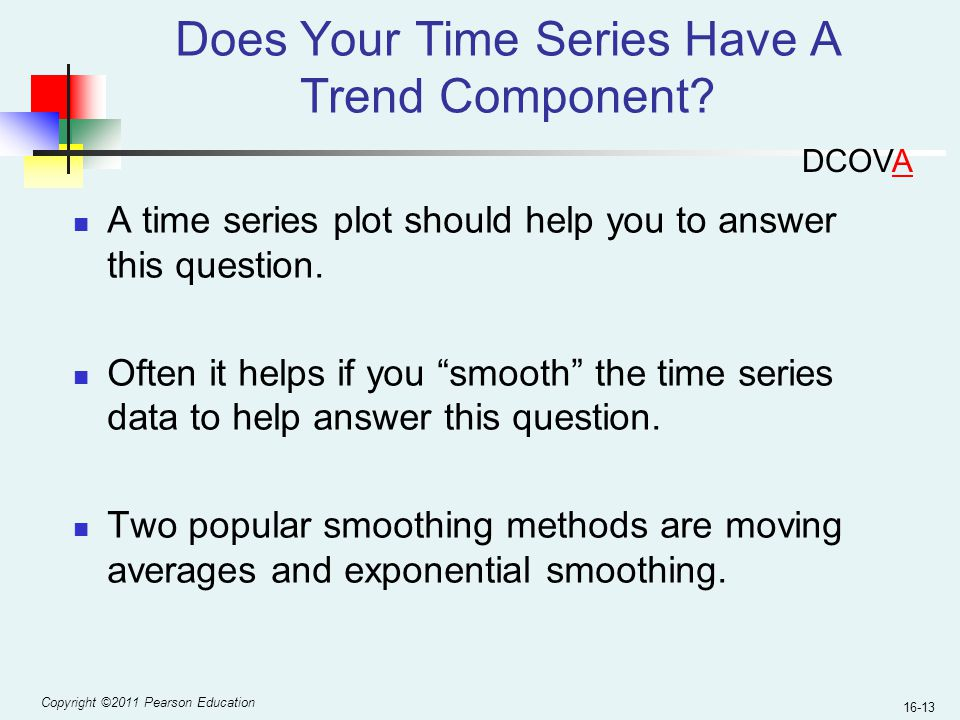 Does Your Time Series Have A Trend Component