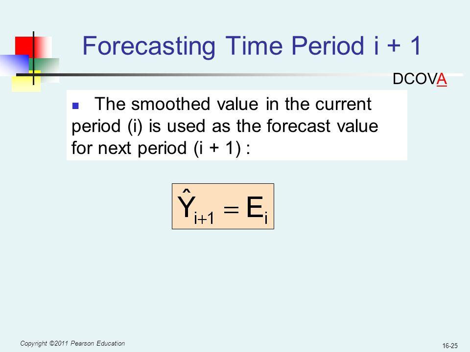 Forecasting Time Period i + 1