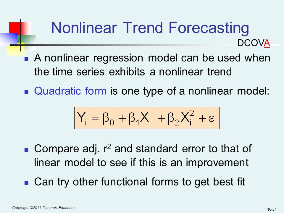 Nonlinear Trend Forecasting