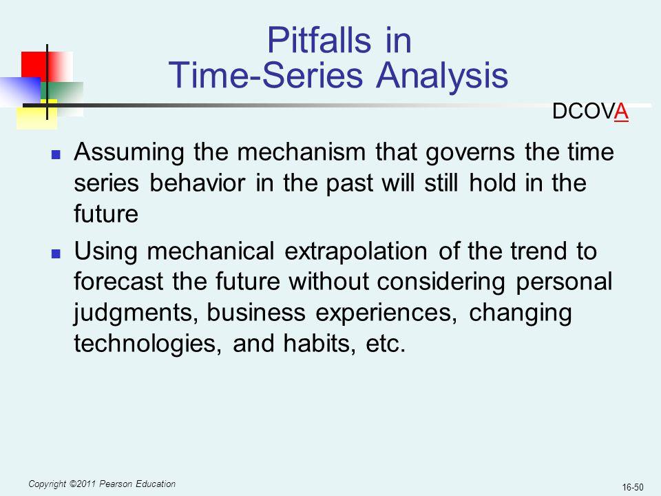 Pitfalls in Time-Series Analysis