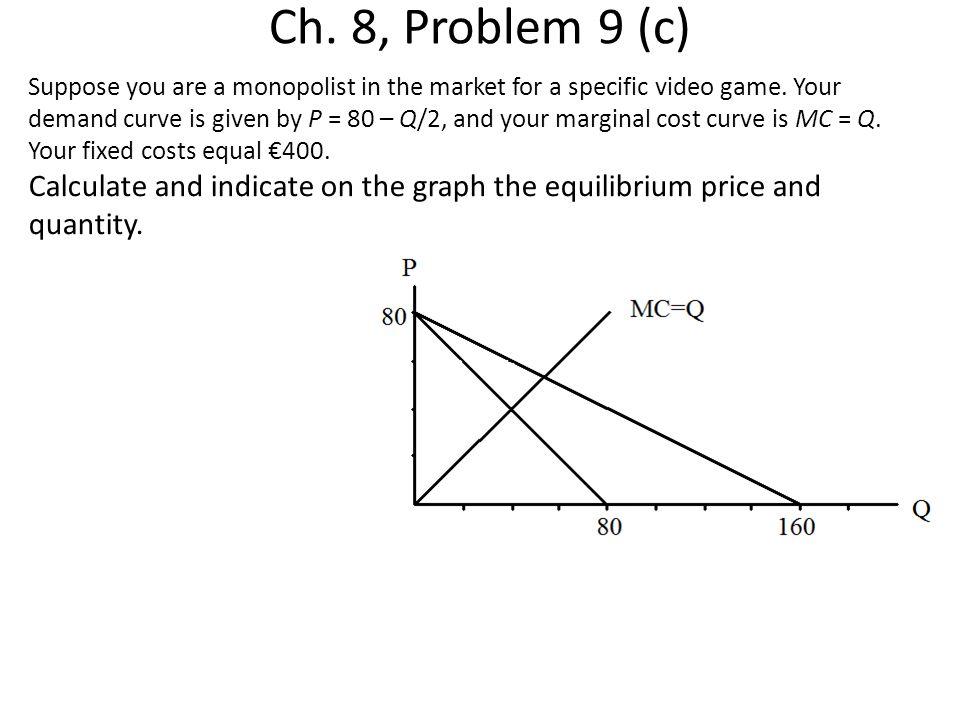 Ch. 8, Problem 9 (c)