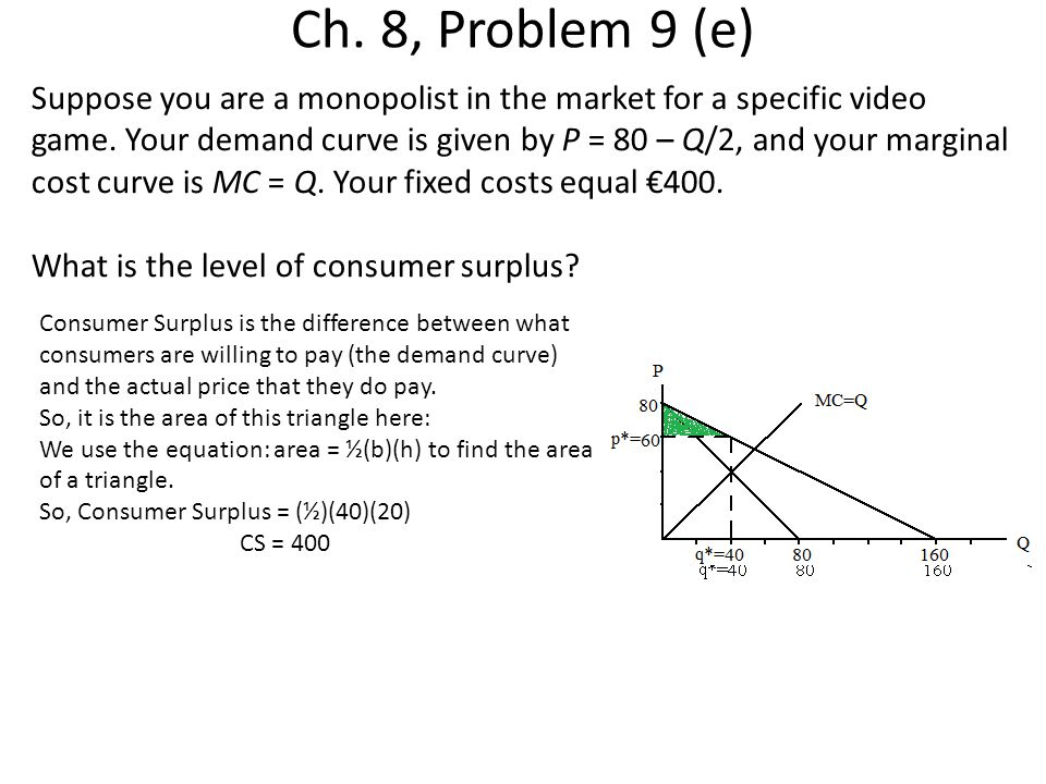 Ch. 8, Problem 9 (e)