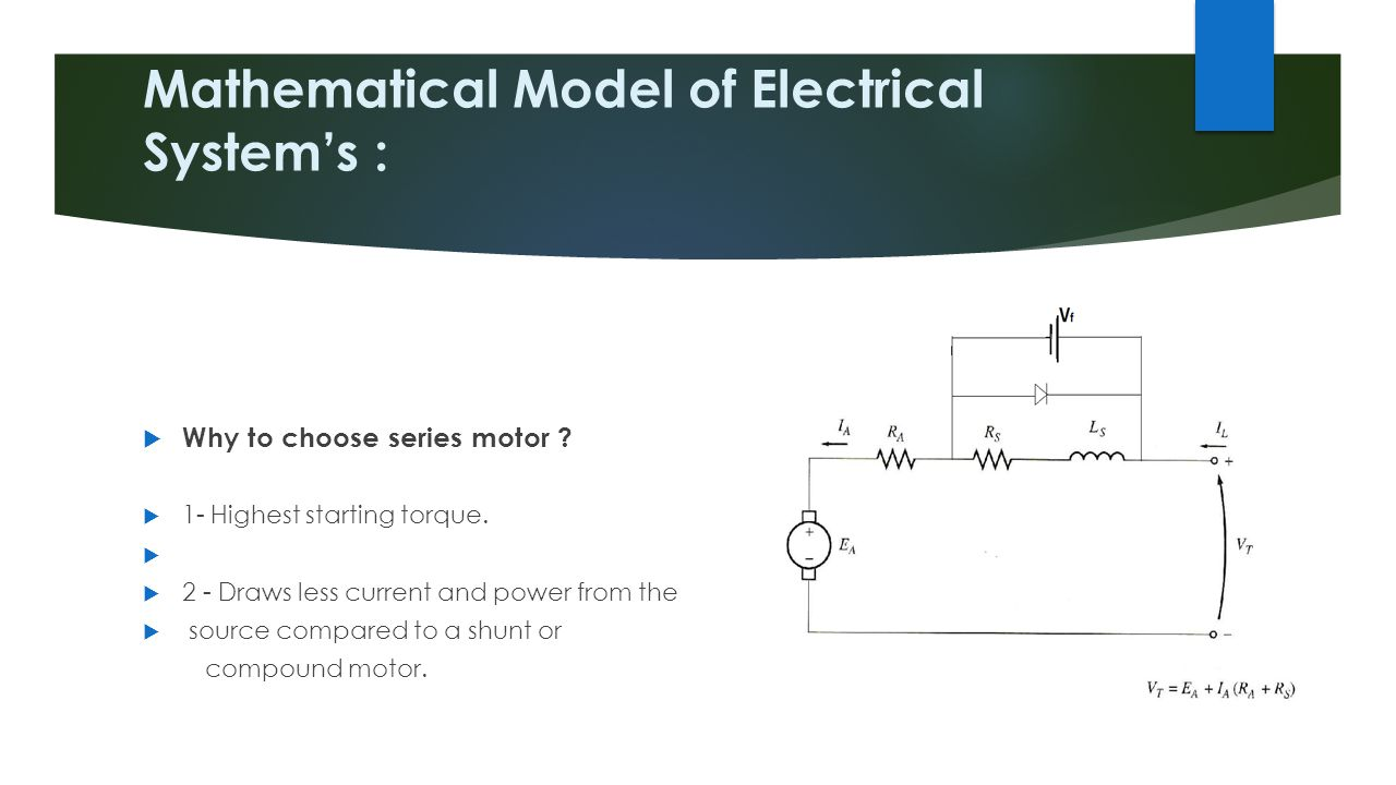 Mathematical Model of Electrical System's :