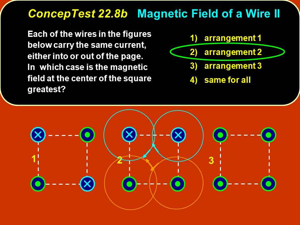 ConcepTest 22.8b Magnetic Field of a Wire II