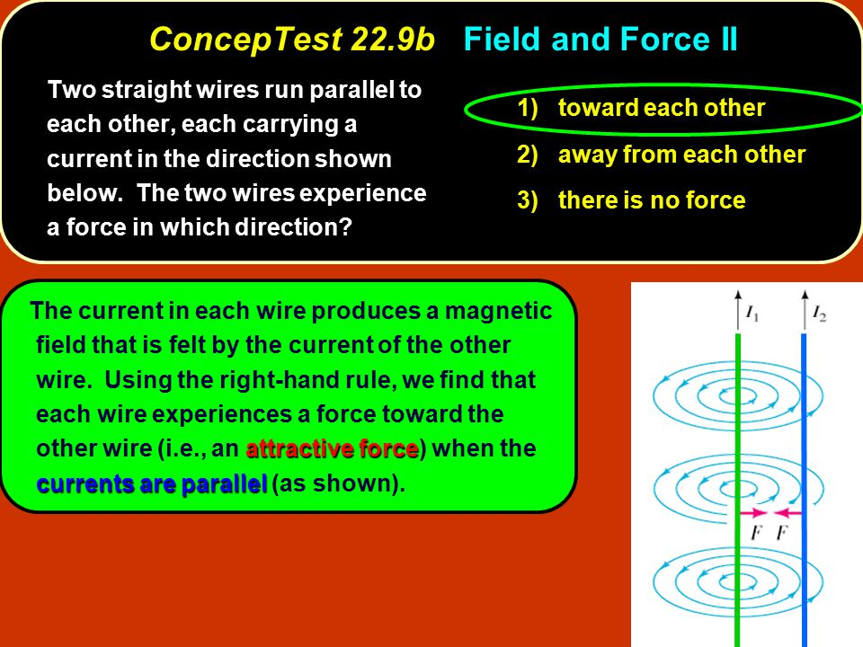 ConcepTest 22.9b Field and Force II