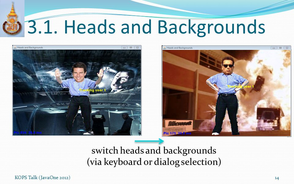 3.1. Heads and Backgrounds switch heads and backgrounds