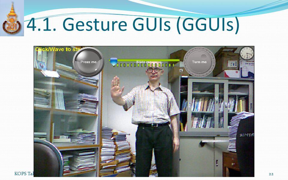 4.1. Gesture GUIs (GGUIs) KOPS Talk (JavaOne 2012)