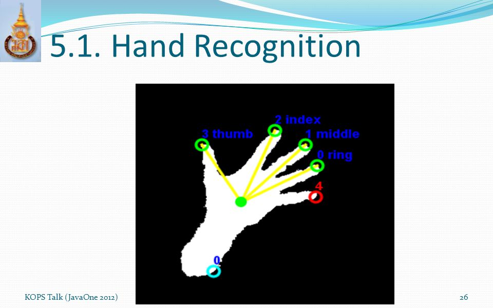 5.1. Hand Recognition KOPS Talk (JavaOne 2012)