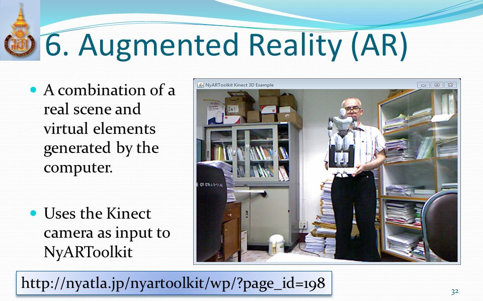 6. Augmented Reality (AR)