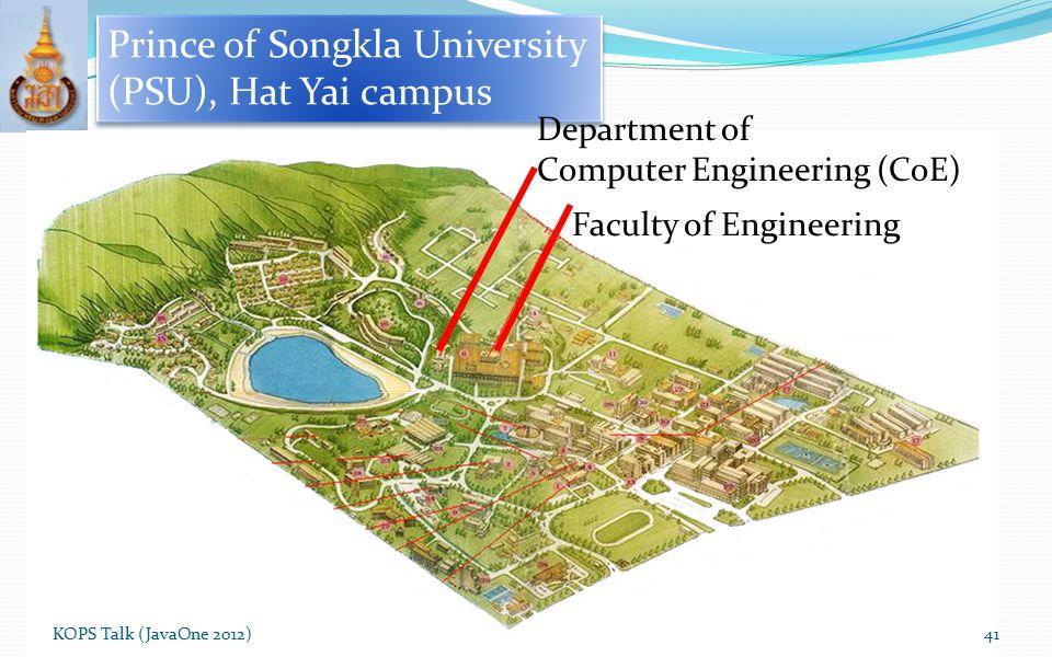 Prince of Songkla University (PSU), Hat Yai campus