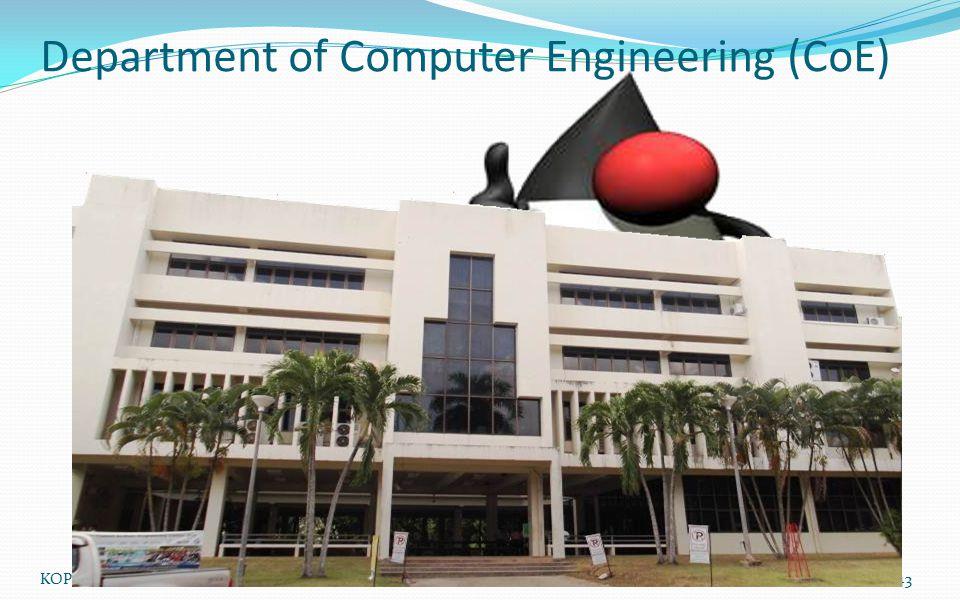 Department of Computer Engineering (CoE)