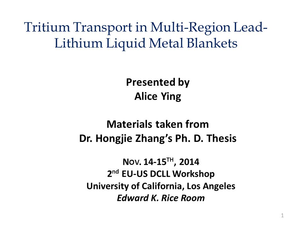 Tritium Transport in Multi-Region Lead-Lithium Liquid Metal Blankets