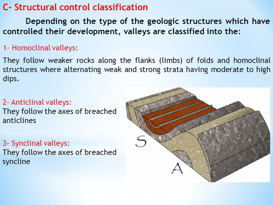 C- Structural control classification