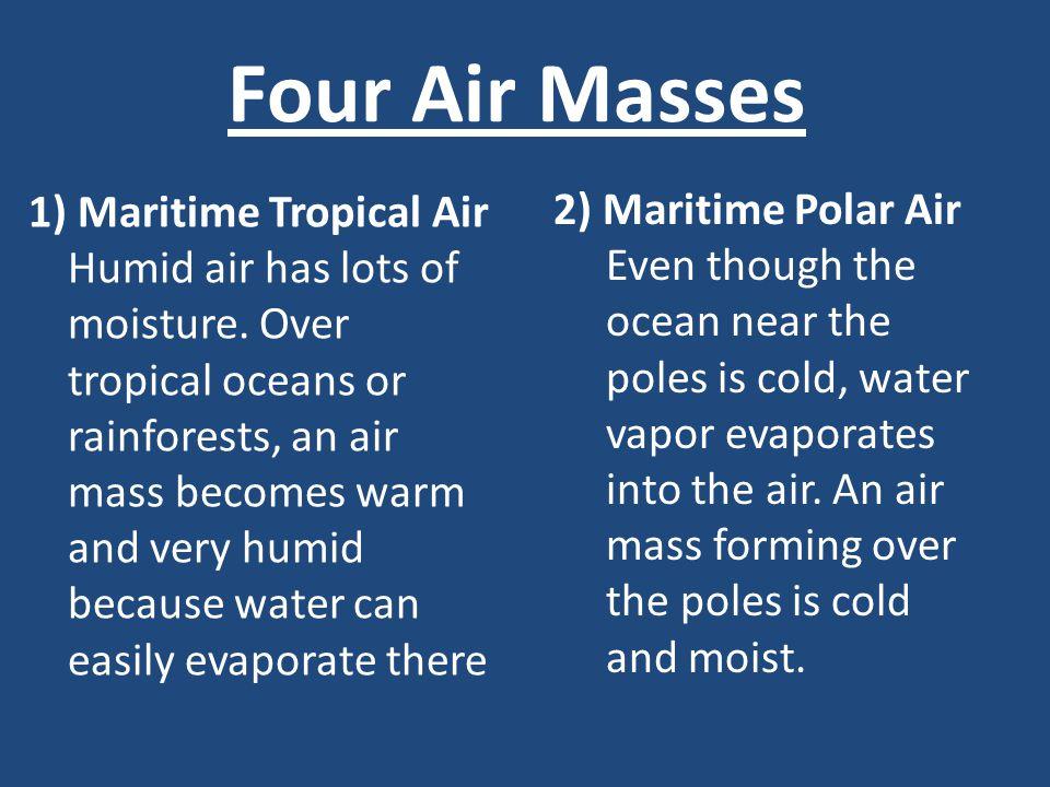 Four Air Masses