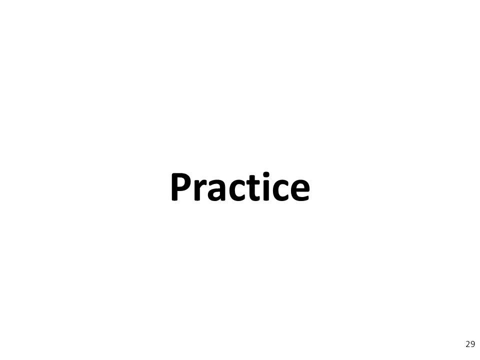 Practice 29