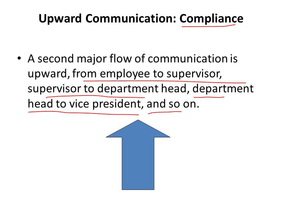 Upward Communication: Compliance