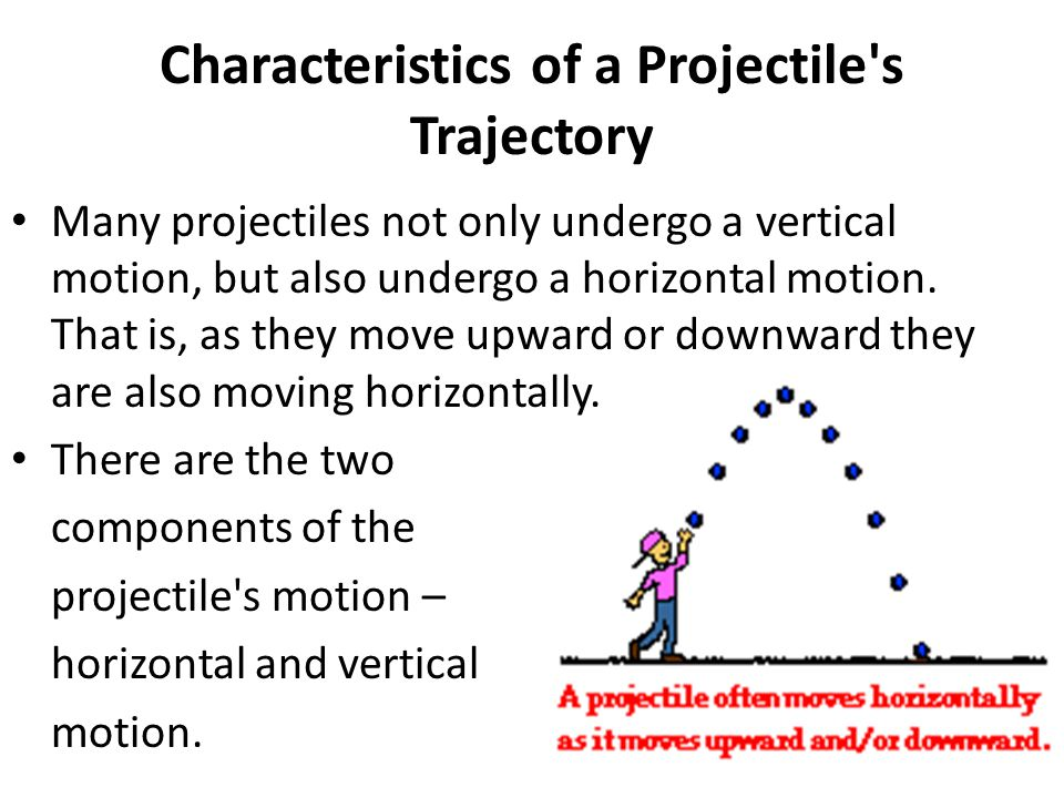 Characteristics of a Projectile s Trajectory