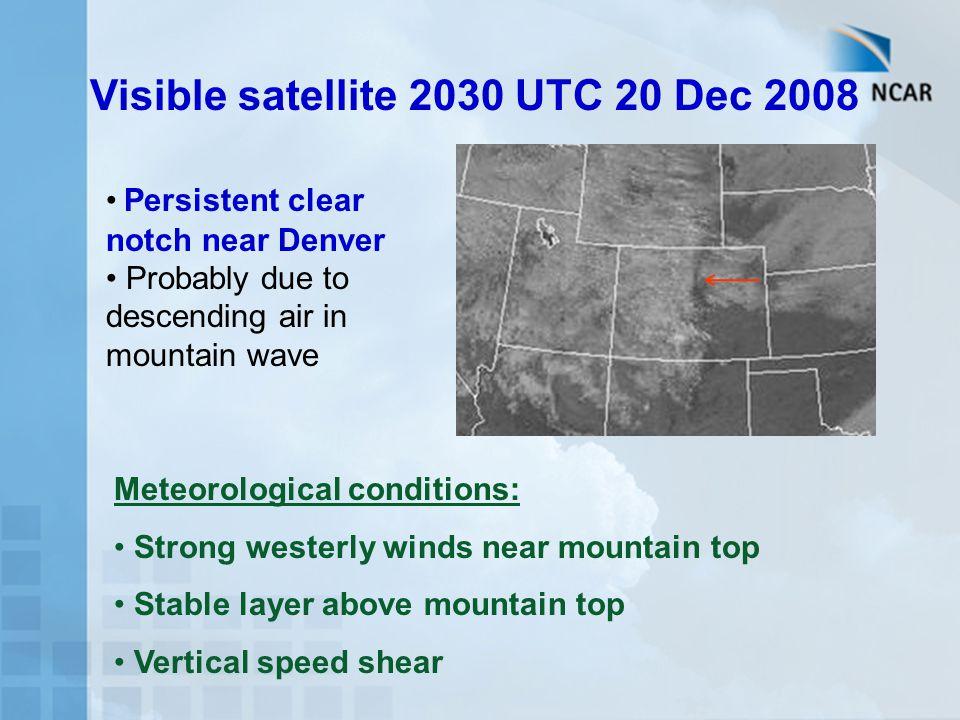 Visible satellite 2030 UTC 20 Dec 2008