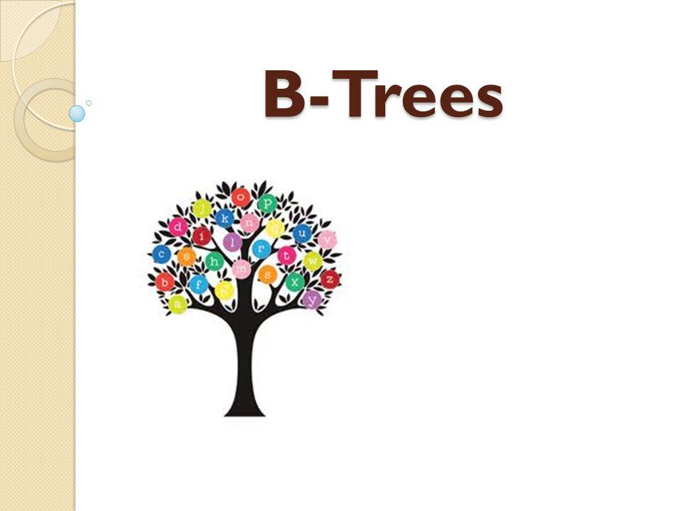 B-Trees