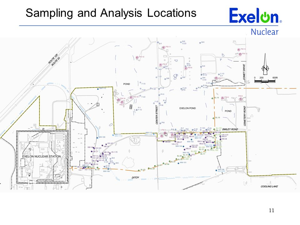 Sampling and Analysis Locations