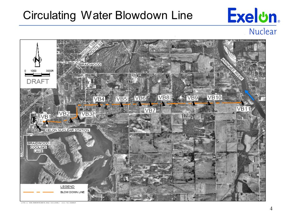 Circulating Water Blowdown Line