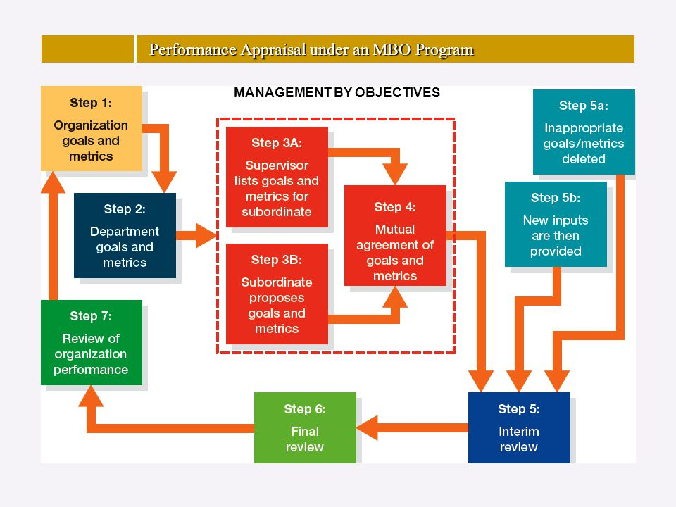 Performance Appraisal under an MBO Program